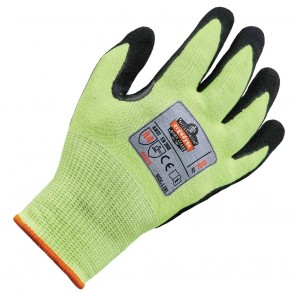 Ergodyne ProFlex® 7041 Hi-Vis Nitrile-Coated Level 4 Cut-Resistant Gloves (Small)