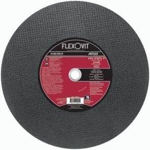 Flexovit 14 X 3/32 X 1 A30RB Chop Saw Cut-Off Wheel