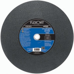 "Flexovit 14""x1/8""x20mm A24/30SB - Heavy Duty Reinforced High Speed Cutoff Wheel"