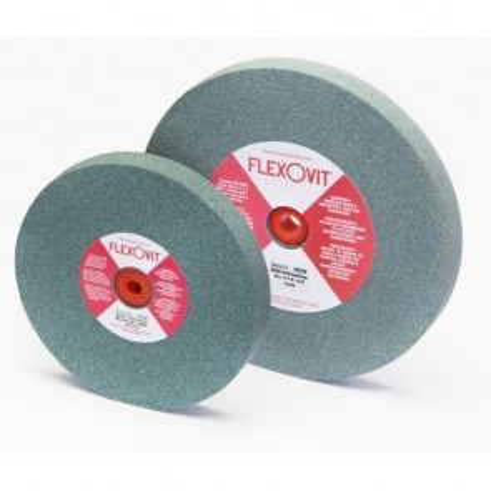 "Flexovit 6""x3/4""x1"" GC80 MEDIUM - GENERAL GRINDING Bench Grinder Wheel"