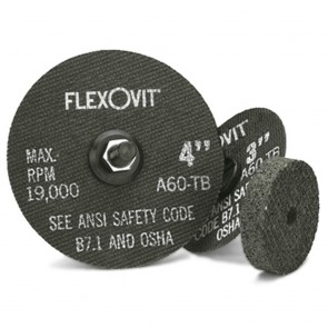 "Flexovit 3"" x 1/16"" x 3/8"" A46T Aluminum Oxide HIGH PERFORMANCE™ Reinforced Type 1 Cut Off Wheel"