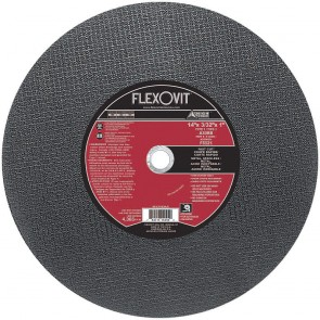 "Flexovit 12"" x 3/32"" x 1"" A30RB - Fast Cut Reinforced Chopsaw Cutoff Wheel"