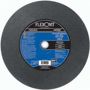 Flexovit 12 X 1/8 X 20Mm A24/30Sb Metal Cut-Off Wheel