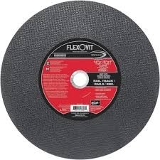 "Flexovit 14""x1/8""x1"" A30PB - Fast Cut Reinforced High Speed Cutoff Wheel"