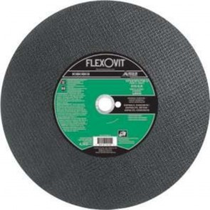 "Flexovit 14""x3/16""x1""(D-1) C20SB - HEAVY DUTY Reinforced; Walk Behind; Concrete Saw Wheel"