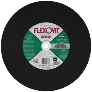 "Flexovit 16""x5/32""x20mm C30UB - HEAVY DUTY Reinforced High Speed Cutoff Wheel"