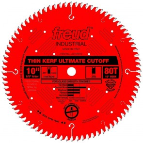 "Freud 10"" Thin Kerf Ultimate Cut-Off Blade"