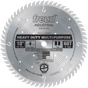"Freud 10"" Heavy Duty Multi-Purpose Blade"