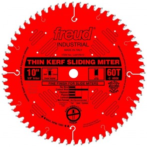 "Freud 10"" Thin Kerf Sliding Compound Miter Saw Blade"