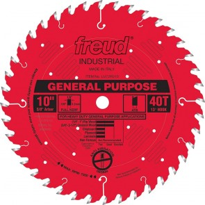 Freud 10X40X5/8 Carbide General Purpose Blade