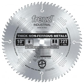 "Freud 10"" Thick Non-Ferrous Metal Blade"
