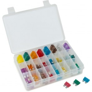 88-Piece Master Auto Fuse Assortment