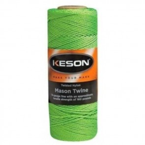 Keson 250 ft Green Braided Mason Twine