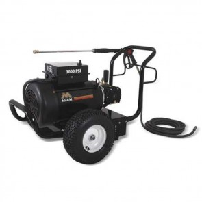 Mi-T-M 3000 psi 3.9 GPM Cold Water Electric Pressure Washer