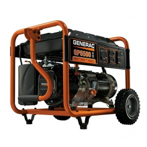 Generac- 6,500-Watt Gasoline Powered Portable Generator