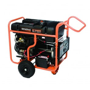 Generac -15,000-Watt Gasoline Powered Portable Generator with OHVI Engine