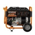 Generac- GP 5,500-Watt Gasoline Powered Portable Generator with 20 ft. 30 Amp Cord