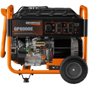 Generac- 8,000-Watt Gasoline Powered Electric Start Portable Generator