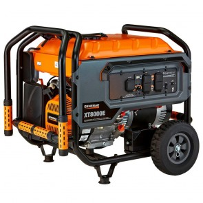 Generac- XT 8000-Running-Watt Portable Generator with Generac Engine