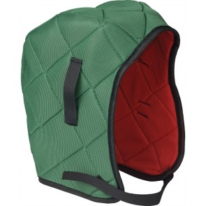 ERB Quilted Winter Liner Hardhats, One Size, Green