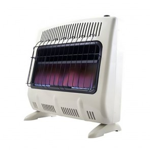 Heatstar 30,000 BTU Vent Free Blue Flame Natural Gas Heater