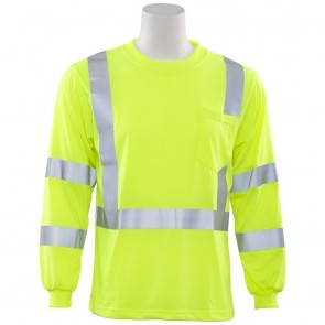 ERB Class 3 Long Sleeve T-Shirt Lime XL