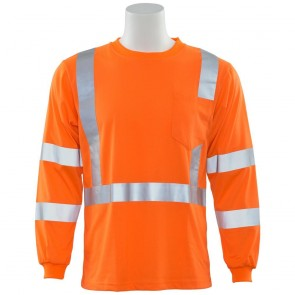 ERB Class 3 Long Sleeve T-Shirt Orange XL