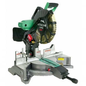 Hitachi 12 in. Dual Bevel Miter Saw with Laser Guide