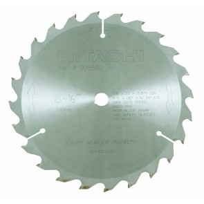 "Hitachi 8-1/2"" x 24 Tooth Saw Blade"