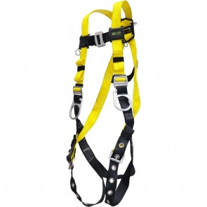 Honeywell Miller Fall Protection Non-Stretch Harness with Lightweight Polyester Webbing, XXL