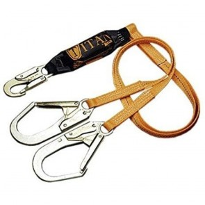 Honeywell Miller Titan™ II 6 ft. Double Leg Pack-Type Shock-Absorbing Lanyard w/Locking Rebar Hook
