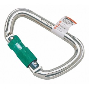 Honeywell Miller Carabiner, 1 in., Dbl Action Twist-Lock