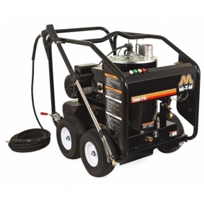 Mi-T-M HSE Series Electric Direct/Belt Drive Hot Water Pressure Washer