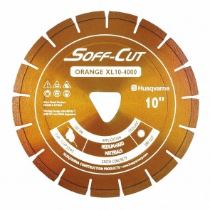 Husqvarna Excel 4000 Series XL14-4000 Ultra Early Entry Diamond Saw Blade, 13.5x0.120-Inch, Orange