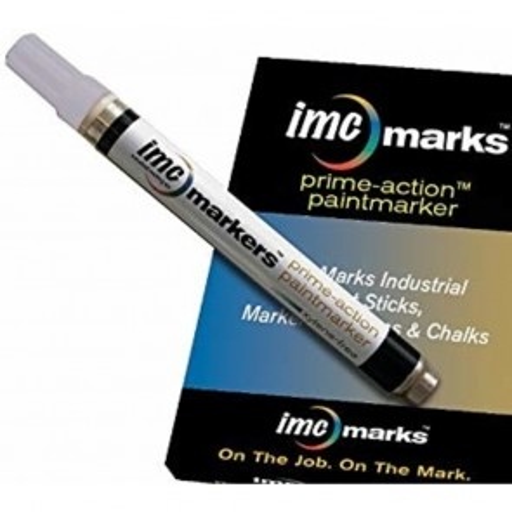 IMC Marks Prime-Action™ Paintmarker (White)