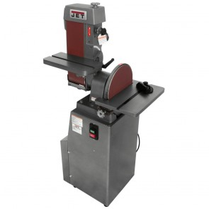 "Jet 6"" X 48"" Industrial Combination Belt and 12"" Disc Finishing Machine 115V 1PH"