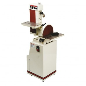 "Jet 6"" X 48"" Industrial Combination Belt and 12"" Disc Finishing Machine 230V 3PH"
