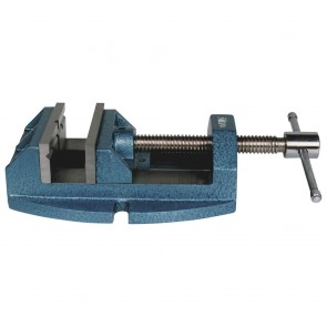 "Jet Versatile Drill Press Vise Cont. Nut 1345, 4"" Jaw Width, 4"" Jaw Opening"
