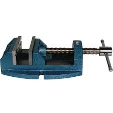 "Jet Versatile Drill Press Vise Cont. Nut 1360, 5"" Jaw Width, 5"" Jaw Opening"
