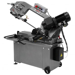 Jet 1 HP 8 in. x 14 in. Geared Head Metalworking Horizontal Bandsaw