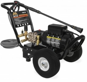 Mi-T-M JP Series Cold Water Electric Direct Drive, 2.0 HP Motor, 120V, 17A, 1500 PSI Pressure Washer