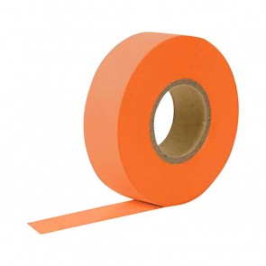 "Keson 150 ft 1-3/16"" Glo-Orange Flagging Tape"