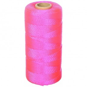 Keson 1000 ft Pink Braided Mason Twine
