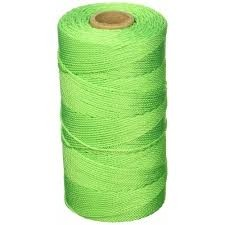 Keson Green Braided Nylon Twine (#18 X 1000 Ft)