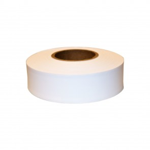 "Keson 300 ft 1-3/16"" White Flagging Tape"