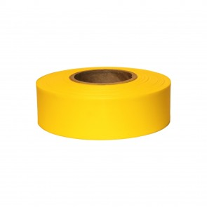 "Keson 300 ft 1-3/16"" Yellow Flagging Tape"