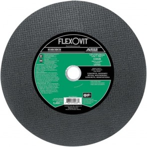 "Flexovit 14""x1/8""x20mm C30UB - HEAVY DUTY Reinforced High Speed Cutoff Wheel"