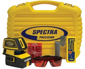 Spectra 5-Point and 2-Cross Line Laser Level