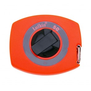 "3/8"" x 50' Hi-Viz® Orange Universal Lightweight Yellow Clad Tape Measure"