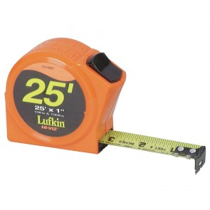 1 in.x25 ft. Engineer ft.s Hi-Viz Orange Series 1000 Power Tape